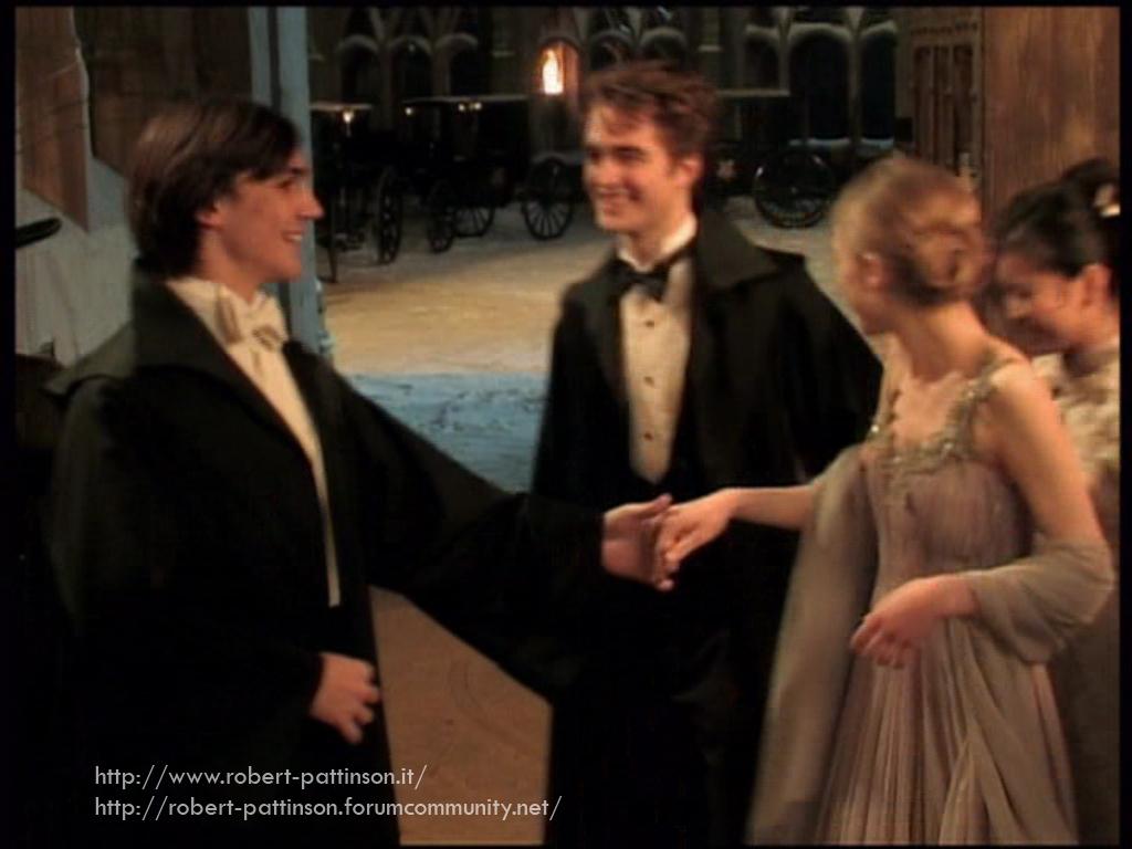 Emma Watson and Robert Pattinson Had a Harry Potter